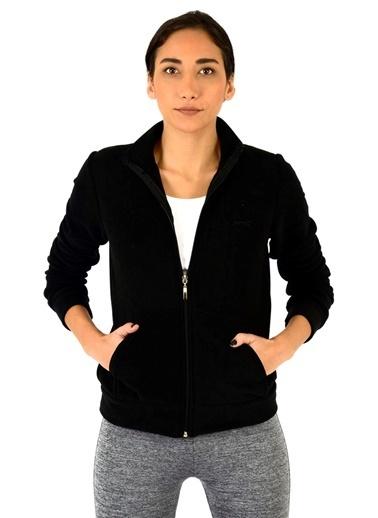 Slazenger Fırsat Ürünü - Polar Sweatshirt Siyah